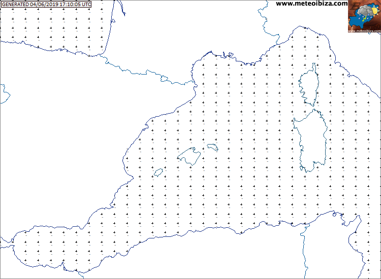 Temperatura en el Mediterraneo